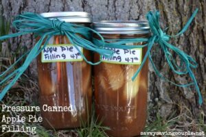 How to Make Pressure Canned Apple Pie Filling
