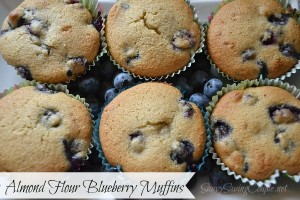 Delicious Blueberry Muffins Made with Almond Flour *Low Carb & Gluten Free!