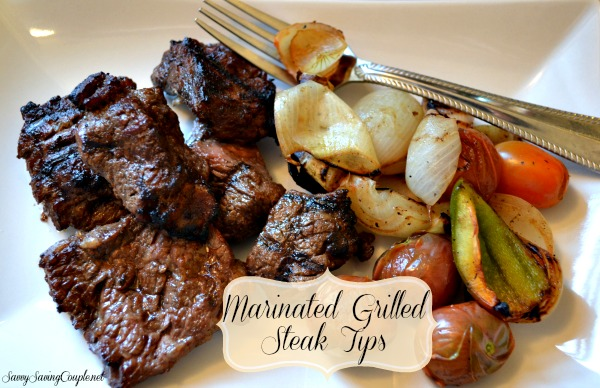 Marinated Grilled Steak Tips