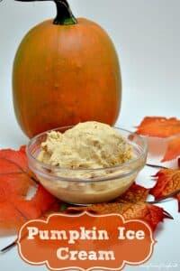 Creamy Pumpkin Ice Cream Recipe