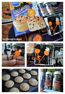 Halloween Cupcakes with Real Whipped Cream Vanilla Frosting