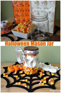 Halloween Peeps Mason Jar Craft