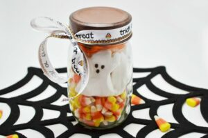 Halloween Mason Jar Craft