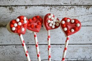 Valentine's Day Marshmallow Pops & Candies