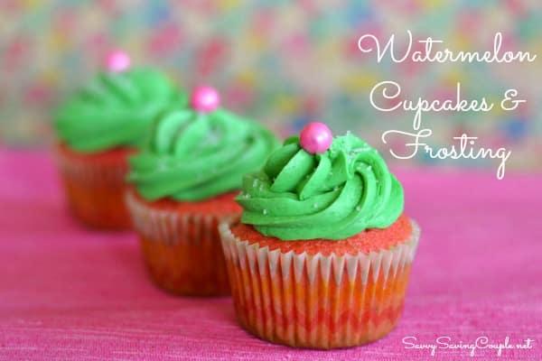 Watermelon Cupcakes-Featuring Betty Crocker Watermelon ...