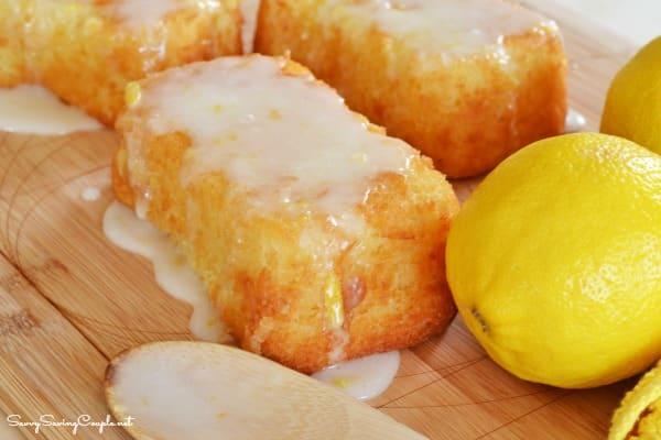 Gluten Free Glazed Lemonade Cake Recipe *Super Moist!
