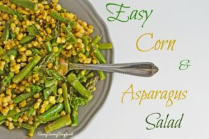 Easy Corn and Asparagus Salad Recipe