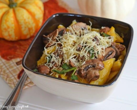 mushroom-squash-pasta