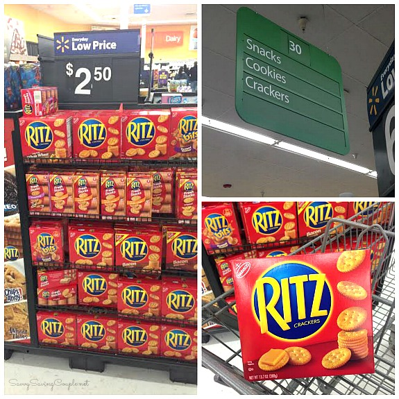 Ritz-crackers-at-walmart