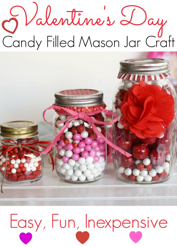 Valentines-Day-candy-mason-jars