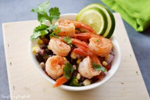 Cilantro-Lime-Shrimp-Salad-with-black-beans