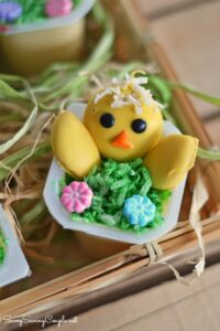 Kid Friendly Easter Chick Pudding Cups: The Perfect Spring Snack!