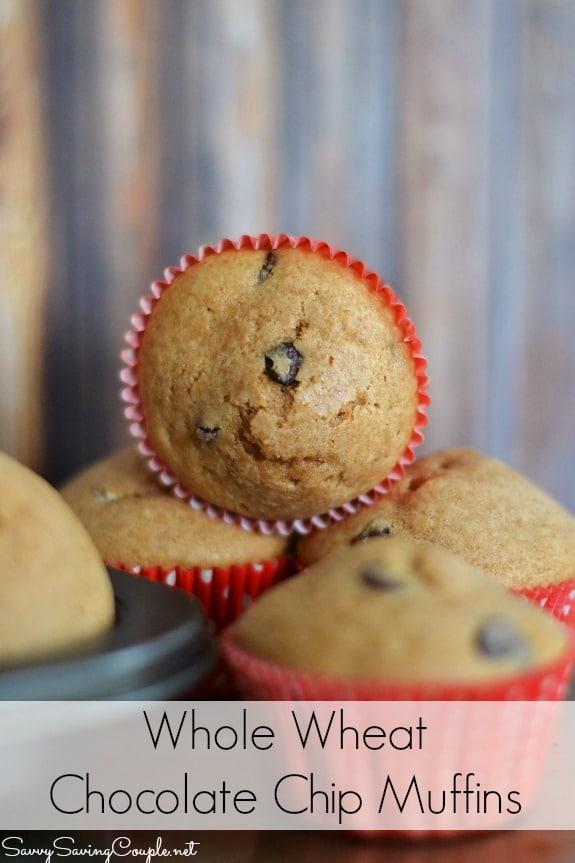 whole-wheat-chocolate-chip-muffins