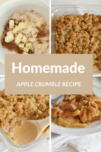 Homemade Apple Crumble