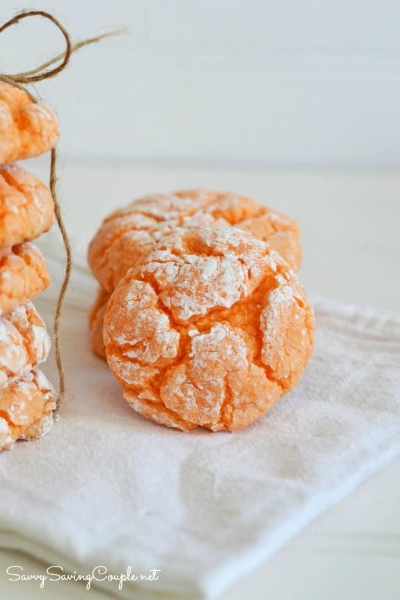Orange-crinkle-cookies