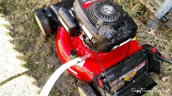 Washing-Lawnmower
