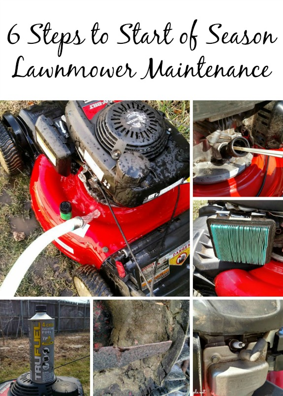 6 Steps to Start of Season Lawnmower Maintenance