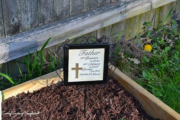 Memorial-garden-stake