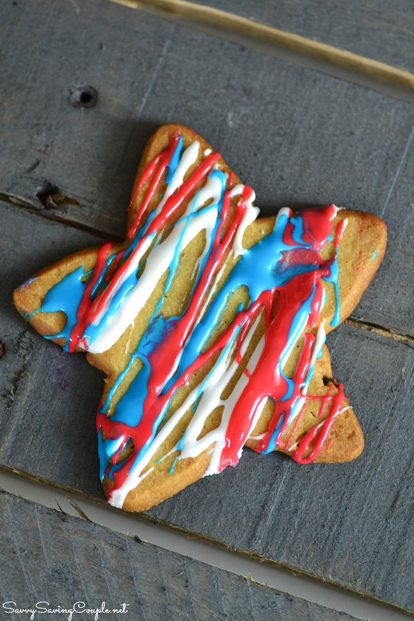 Patriotic-star-cookie
