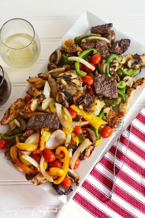grilled-chicken-steak-vegetables