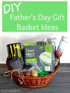 DIY Father's Day Gift Basket with Dove Men + Care
