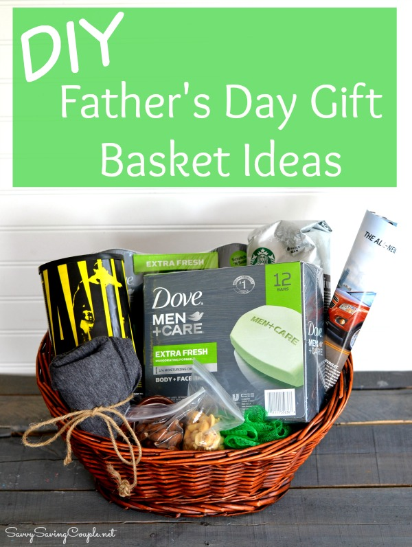 Diy Father S Day Gift Basket Filler Ideas Savvy Saving Couple