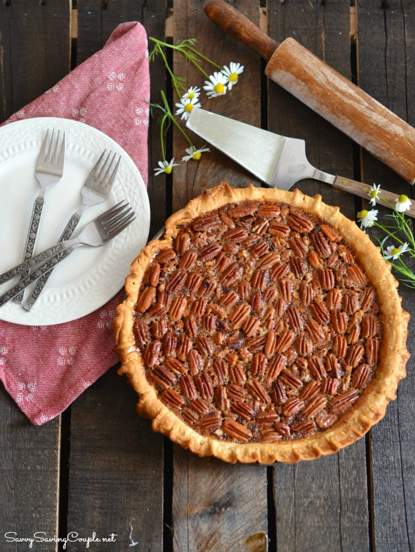 Southern Style Pecan Pie