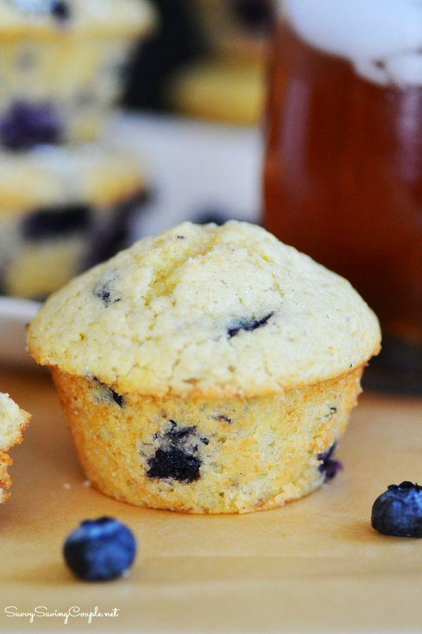 Lemon-Blueberry-Muffins
