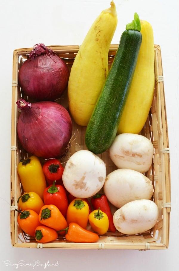 Rainbow-veggies