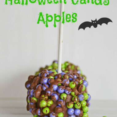 Halloween candy apple