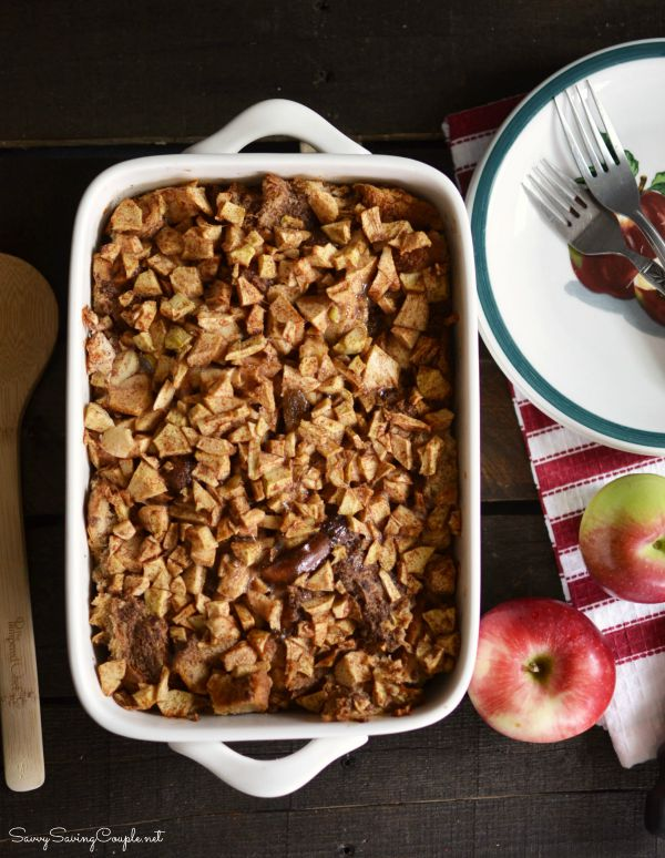 Apple-bread-pudding
