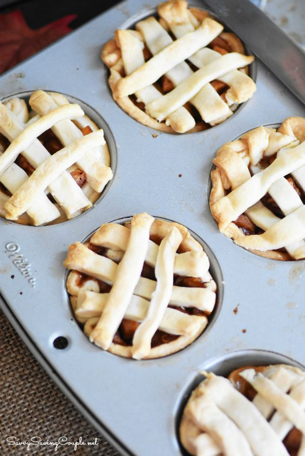 Apple-pies-in-muffin-tins