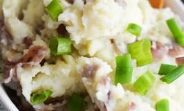 Garlic Red Bliss Mashed Potatoes