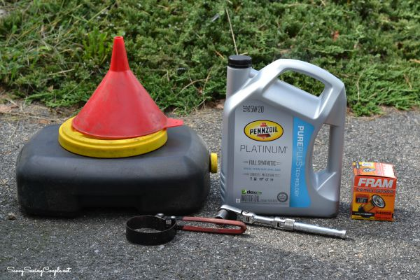 how to change motor oil and filter
