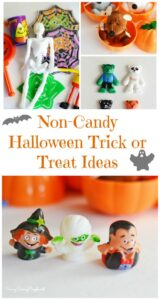 Spooktacular Non-Candy Halloween Trick or Treat Ideas