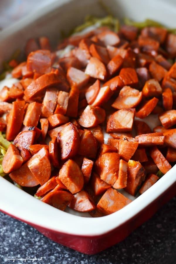 Chorizo-casserole