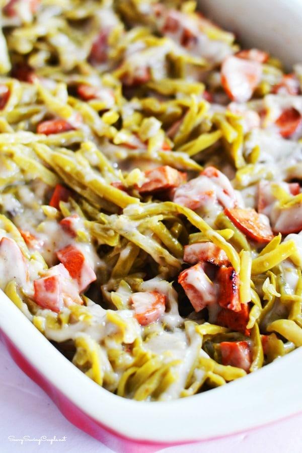 Chorizo-green-beans