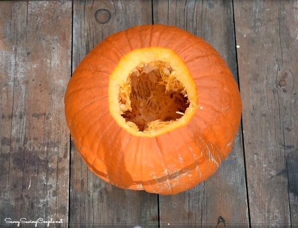 Cored-out-pumpkin