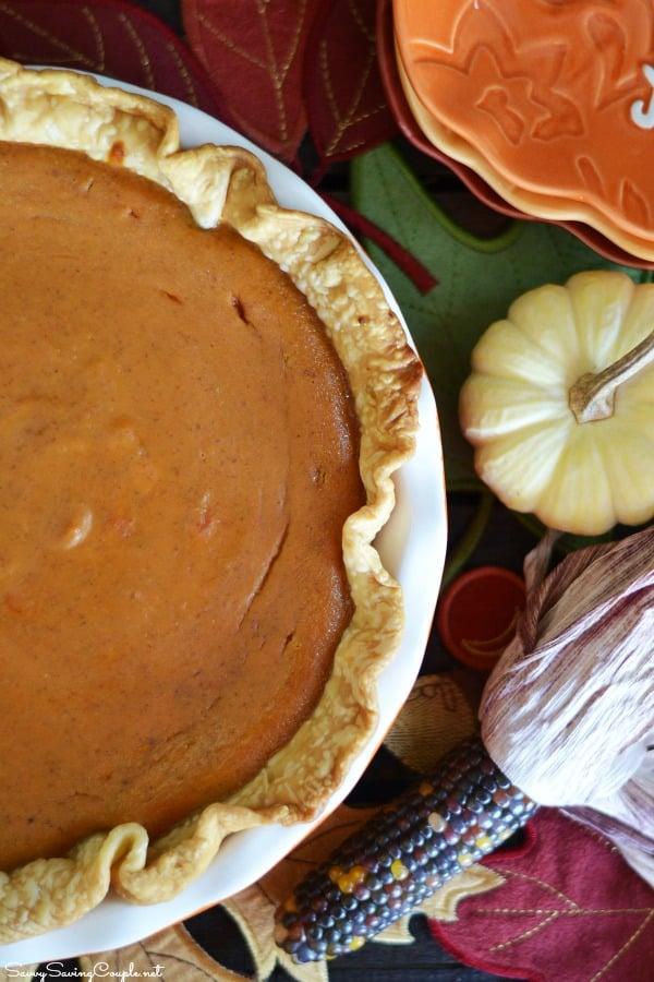 The Best Shortcut Pumpkin Pie Recipe!