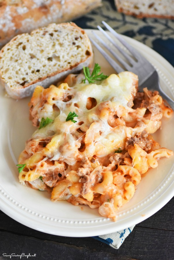 Skillet-pasta-bake