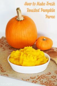 How to Make Homemade Pumpkin Puree-Two Ways