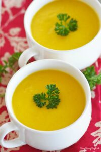 Delicious Roasted Butternut Squash Soup