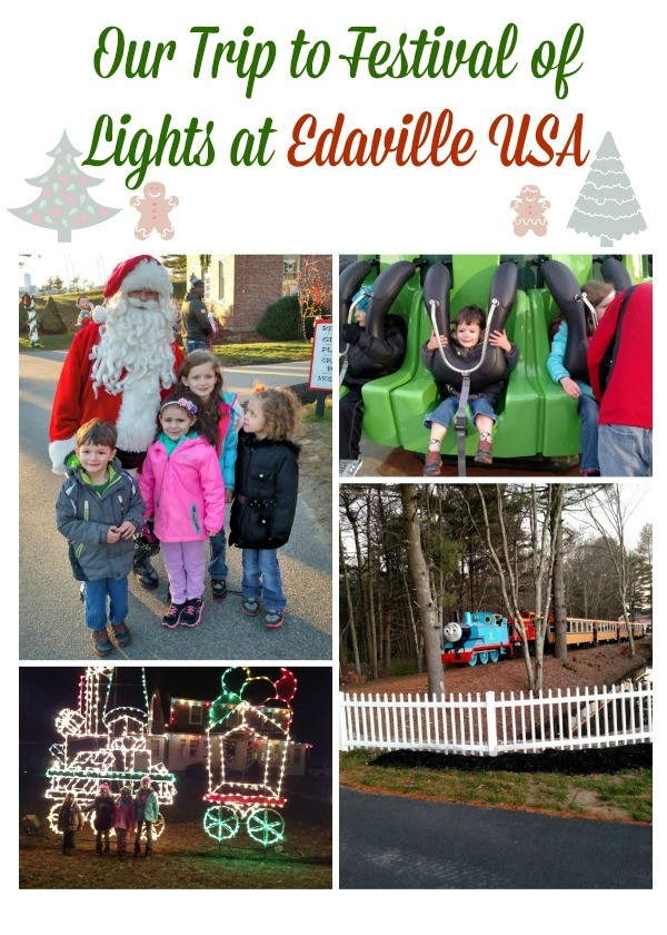 Our Trip to Festival of Lights at Edaville USA