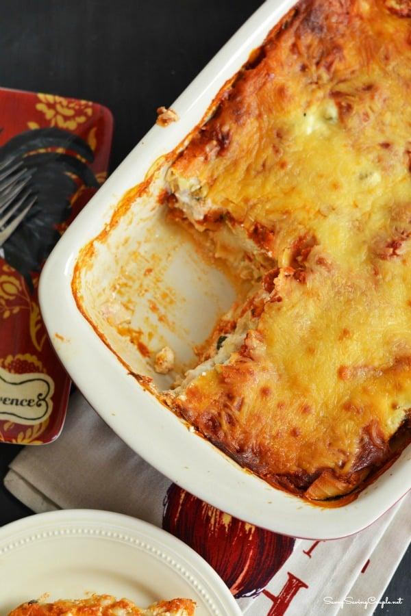 Lasagna-in-pan