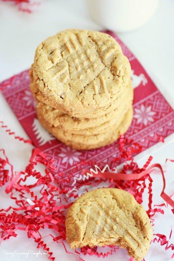 4 Ingredient Peanut Butter Cookies Made with SPLENDA®