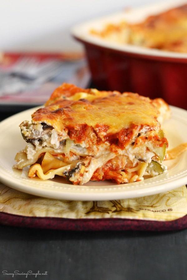 Hearty Vegetable Lasagna Recipe
