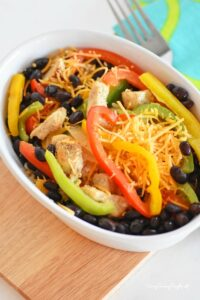 Better For You Chicken Burrito Bowl Recipe