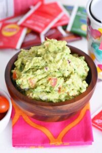 Chunky Guacamole Recipe & Some New Lipton Teas