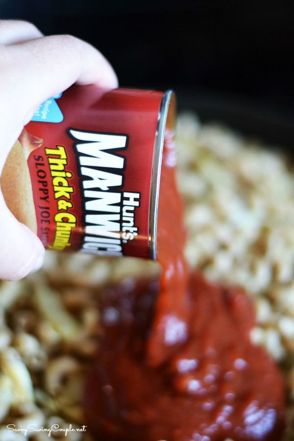 Manwhich-pasta