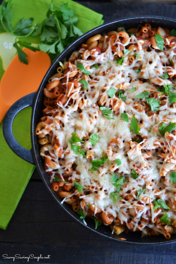 Sloppy-Joe-chicken-pasta